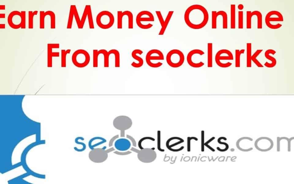 earn money online with seoclerks